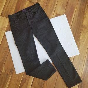 NYDJ Animal Print Skinny Jeans